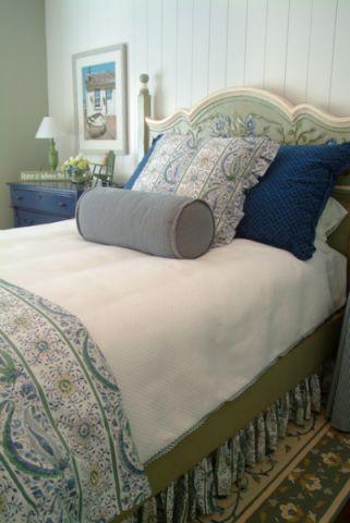 卧室细节美式风格装修效果图