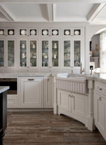 厨房细节美式风格效果图