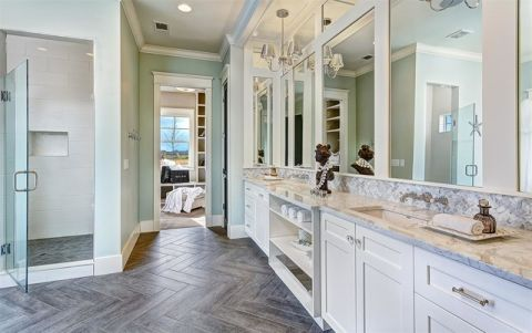 卫生间吧台美式风格装修效果图