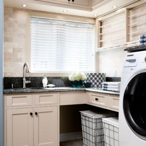 卫生间细节美式风格装潢图片