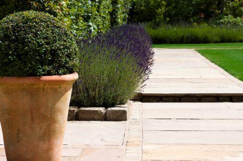 花园绿色细节美式风格装潢设计图片