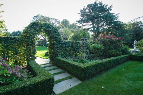 花园绿色细节美式风格装饰效果图