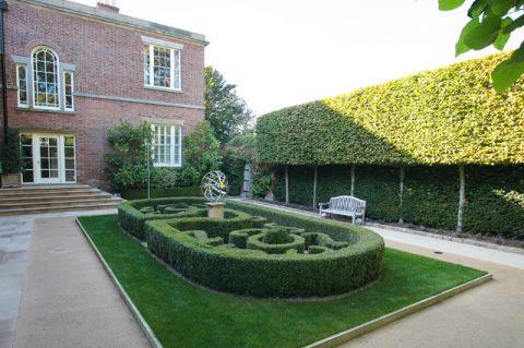 花园绿色细节美式风格装修图片