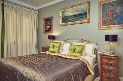 卧室彩色细节美式风格装饰效果图