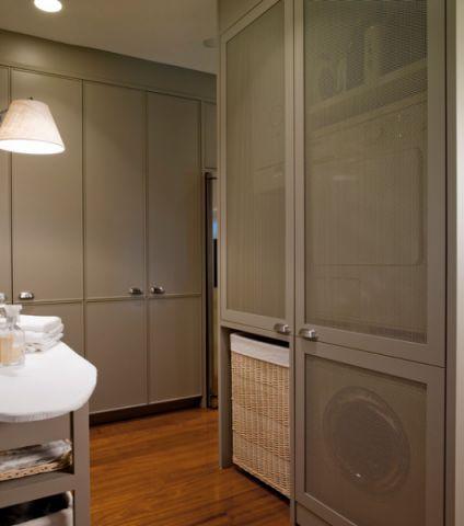 卫生间灰色细节美式风格装饰图片