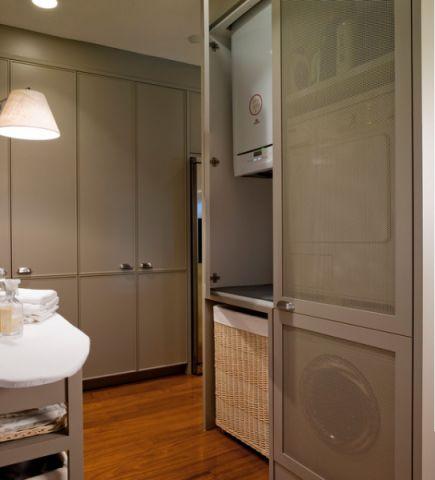 卫生间灰色细节美式风格装修设计图片