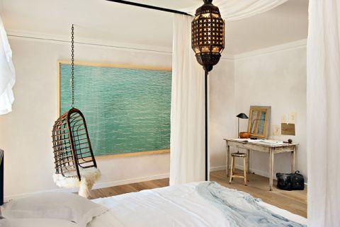 卧室灯具混搭风格装潢图片