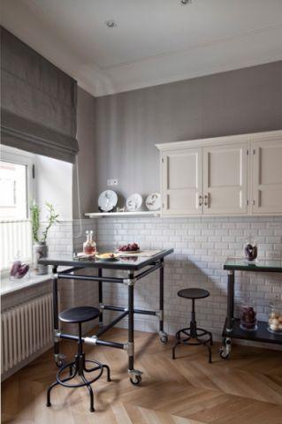 厨房黑色细节混搭风格装修图片