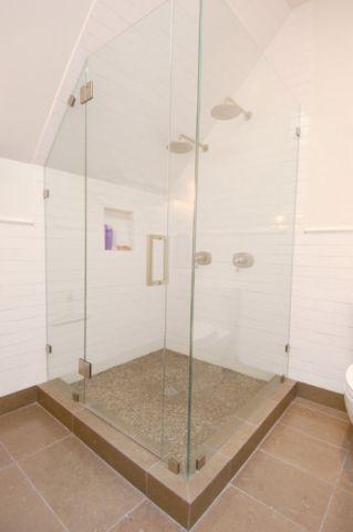 卫生间白色细节混搭风格装饰图片