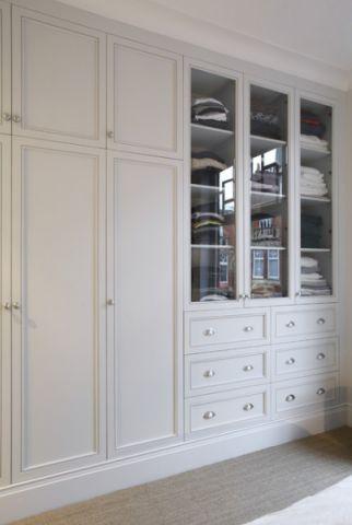 客厅白色细节混搭风格效果图