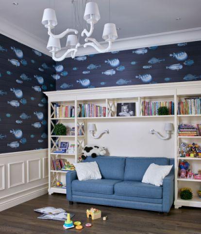 清新自然混搭风格儿童房装修效果图
