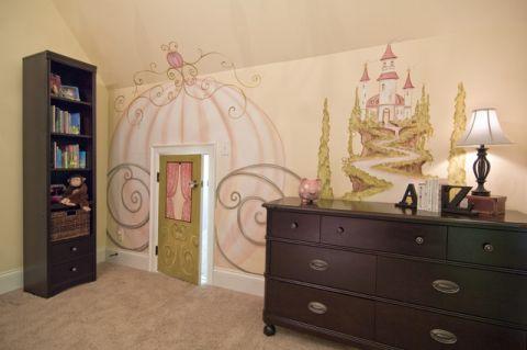 温暖混搭风格儿童房装修效果图