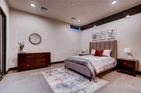 卧室白色细节现代风格装潢设计图片