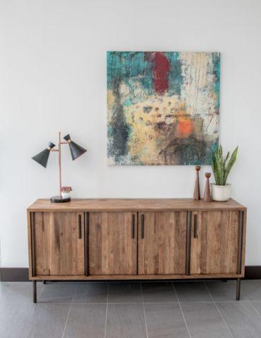 客厅咖啡色细节现代风格装修效果图