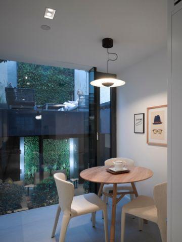 客厅黑色灯具现代风格装潢图片