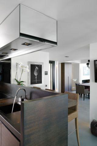 厨房白色细节现代风格装潢图片