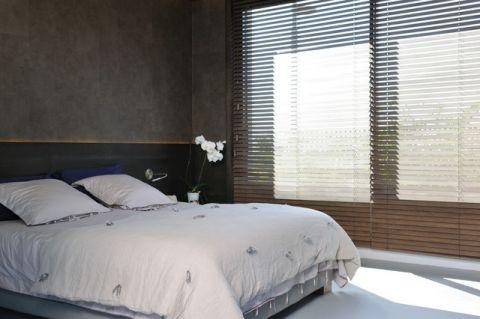 卧室咖啡色细节现代风格装修设计图片