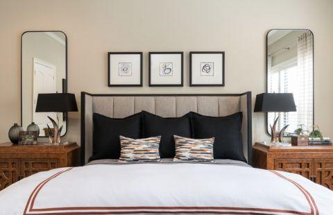 卧室灯具现代风格装修效果图