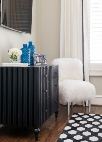 卧室电视柜现代风格装潢效果图