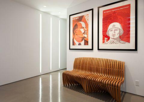 客厅黄色沙发现代风格装修效果图