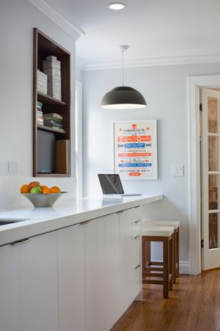 厨房咖啡色走廊现代风格装修图片