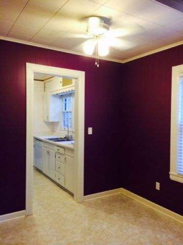 厨房红色门厅现代风格装潢设计图片