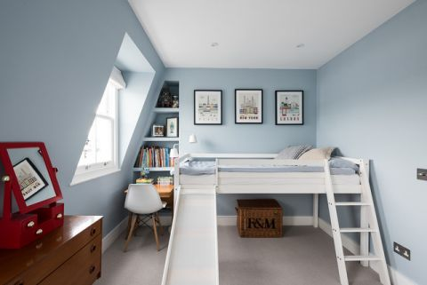 优雅时尚现代风格儿童房装修效果图