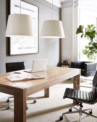 书房灯具现代风格装饰设计图片