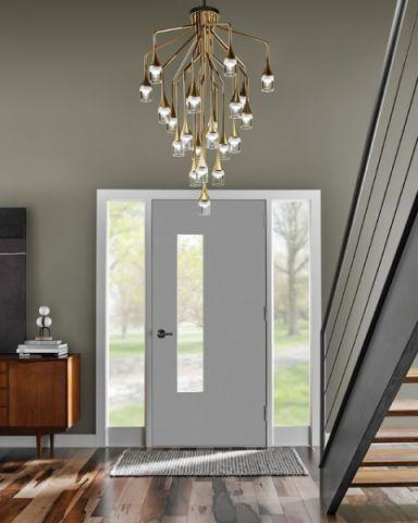 玄关灯具现代风格装潢设计图片