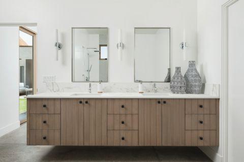 卫生间白色细节现代风格装修图片