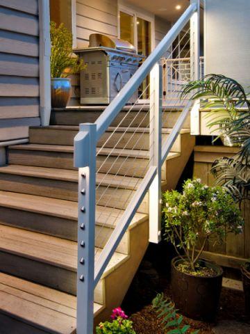 阳台咖啡色现代风格装饰效果图