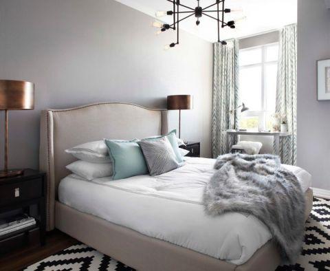 卧室米色榻榻米现代风格装饰设计图片