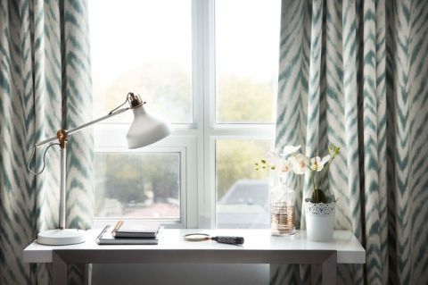 卧室白色细节现代风格装潢效果图