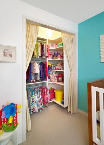 充满活力现代风格儿童房装修效果图