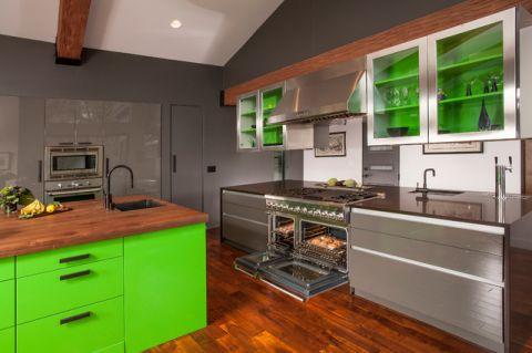 干净舒适现代风格厨房装修效果图_土拨鼠2017装修图片大全
