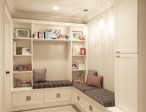 书房书架现代风格装修效果图