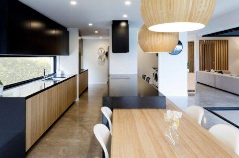 厨房现代风格装潢设计图片