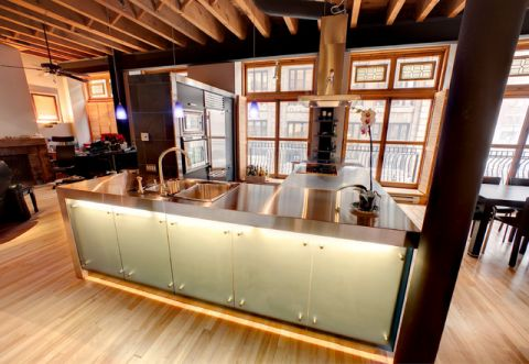 厨房现代风格装饰图片