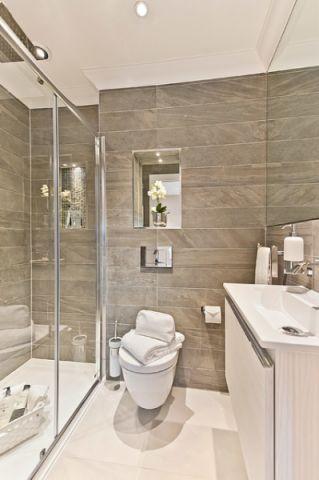 卫生间推拉门现代风格装饰设计图片