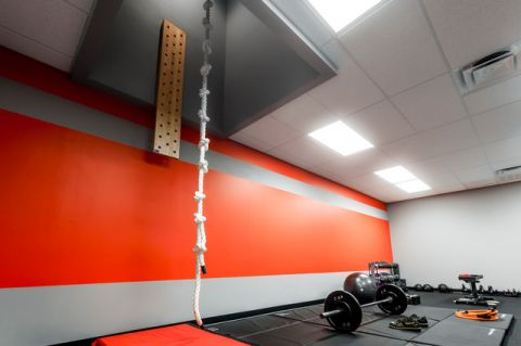 健身房现代风格装修设计图片