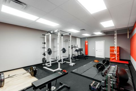 健身房现代风格装饰设计图片