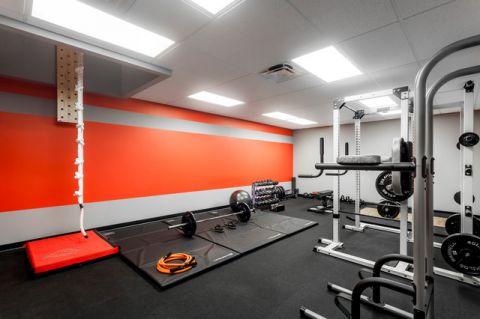 健身房现代风格效果图