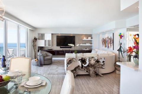 客厅现代风格装潢效果图