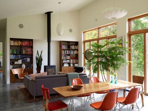 简洁优雅现代风格客厅装修效果图_土拨鼠2017装修图片大全