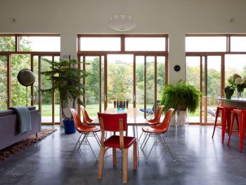 餐厅推拉门现代风格装饰效果图