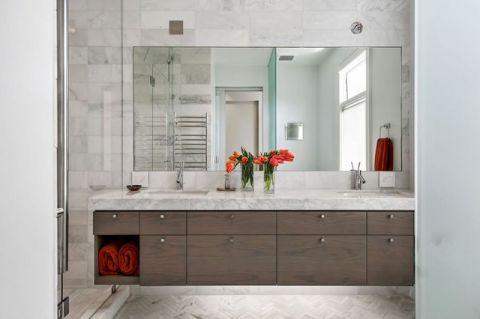 品质生活现代风格浴室装修效果图_土拨鼠2017装修图片大全