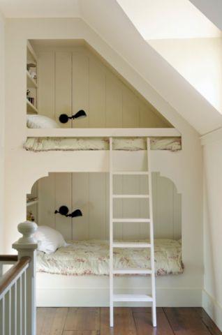 儿童房床现代风格效果图