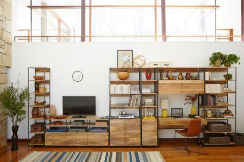 书房电视柜现代风格装饰效果图
