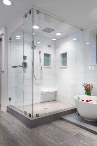 卫生间隐形门现代风格装饰设计图片