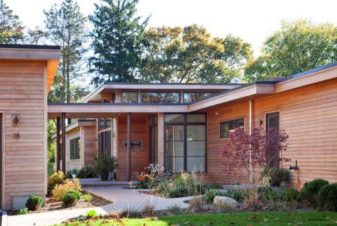 花园现代风格装修设计图片